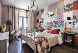 tapete im schlafzimmer kombinieren 50 fotos ideen und tipps