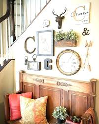Decor Clock Wall With Clocks Wooden Surrounding Get Quotations A Creative