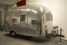 100 Modern Travel Trailer On The Road Airstream Bambi MoMA