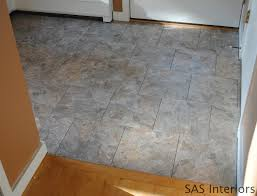 Tiling A Bathroom Floor Over Linoleum by Diy How To Install Groutable Vinyl Floor Tile Jenna Burger