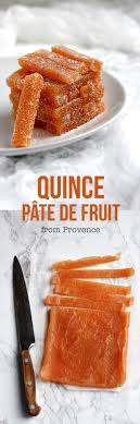 Quince Pate De Fruit From Provence