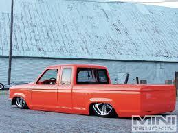 100 Little Shop Of Horrors Mini Trucks 1989 Ford Ranger Blood Orange Ford Truckin Magazine