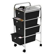 Plastic Drawers On Wheels by Storage Cool Premier Housewares 4 Drawer Storage Trolley Easy