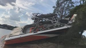 100 Mastercraft Truck Equipment Crews Recover Wreckage That Injured Four In Douglas Lake Boating