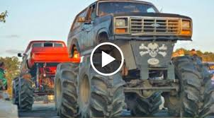 Mud Truck Tug-of-War At The Eagles – Speed Society
