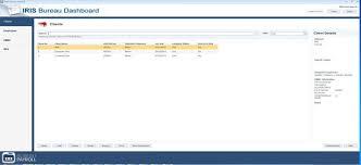 export bureau how to export iris payroll bureau data and import into openbooks