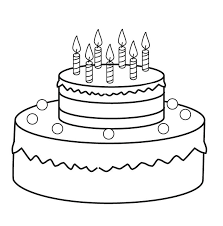coloring pages of cakes coloring pages of round cake coloring pages cake with candles coloring pages of cakes birthday