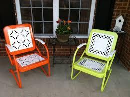 74 best vintage metal lawn chair images on