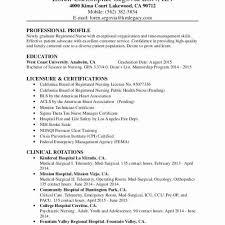 Sample Resume For Staff Nurse Position Extraordinay Template Inspirational Nursing Example Best