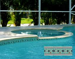 Waterline Pool Tile Designs by Swimming Pool Designs U0026 Pool Liners Balian Tile Studio