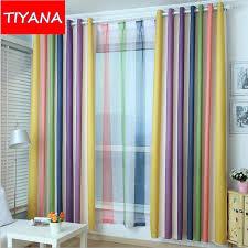 rideau pour chambre a coucher coloré é mode haute qualité rideaux pour chambre à coucher