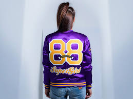 custom letterman jackets women satin varsity jackets