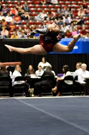 Usag Level 4 Floor Routine 2015 by University Of Denver Gymnast Maggie Laughlin Competes A Switch