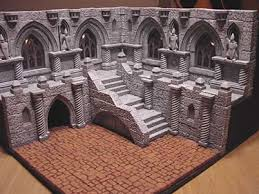 3d Dungeon Tiles Dwarven Forge by Www Terrainosaur Com View Topic A Tale Of Two Dungeons