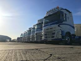 100 Gibson Truck 9 New Volvos Completed For Simon Transport