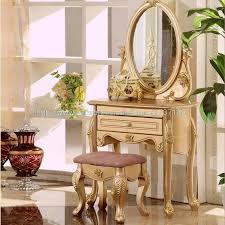 französisch chagner gold eitelkeit einfache linien und elegante möbel kleine wohnung schlafzimmer kommode