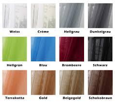curtain with voile curling transparent creme 140x225 cm