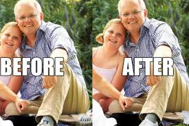 100 Andrew Morrison Artist Horrible Photoshop Fail Gives Australian Prime Minister