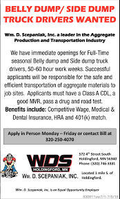 Truck Drivers Wanted, WDS - WM, D. Scepaniak, INC Entrylevel Truck Driving Jobs No Experience St Cloud Mn Best 2018 Full Time Log Driver Pittack Logging News For Foodliner Drivers Get Your Dream Job Today Right Turn Recruiting Fleets Seek As Turnover Rate Hits 95 Transport Topics Ownoperator Drive With Us Company Trucking Twin Express Foltz I29 In Iowa With Rick Pt 15 More Are Bring Their Spouses Them On The Road