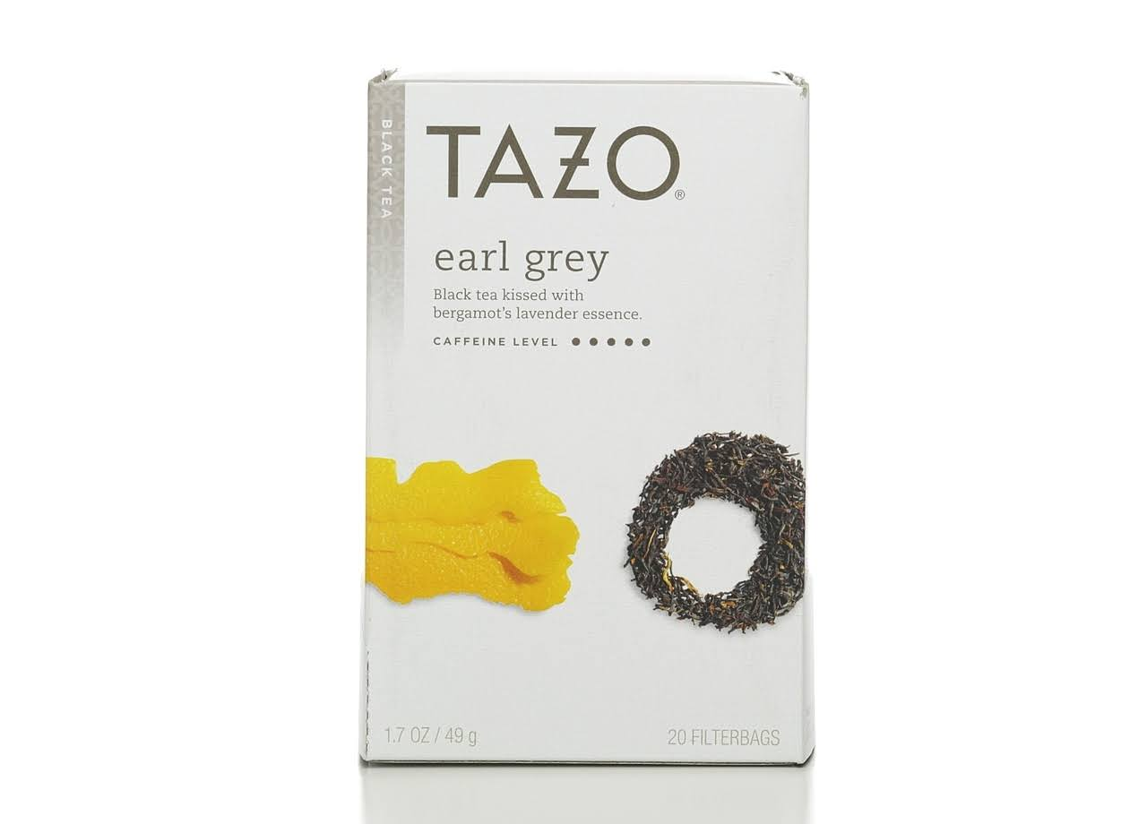 Tazo Black Tea - 20 Bags, Earl Grey, 1.7oz