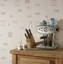 papier peint imitation carrelage cuisine du papier peint effet carrelage aux motifs café leroy merlin