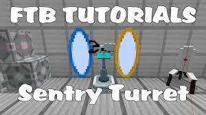 Portal 2 Sentry Turret Usb Desk Defender by Feed The Beast Tutorials Sentry Turret Youtube