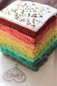 gateau d anniversaire herve cuisine rainbow cake ou gâteau arc en ciel c est tres facile a faire