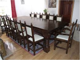 Marvelous Large Dining Table Seats 10 Design Handmade Homemade Sophisticated Format Kitchen Ideas