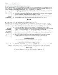 Sample Resume For Retail Job Executive