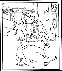 Boaz And Ruth Coloring Pages