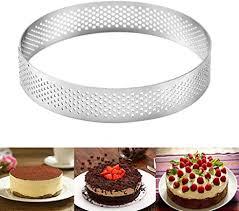 etophigh kuchen ringe dessert ringe haushalt runde mit loch atmungs französisch stil mousse kuchen ring küche backwerkzeug ringe formen