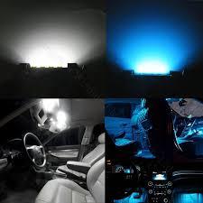wljh blue white 31mm c5w car led 12v 2835 smd auto interior