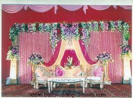 Wedding Stage Decoration With Flower
