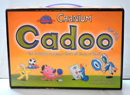 Cranium Cadoo Childrens Board Game 3 D Glasses Clay Etc NICE