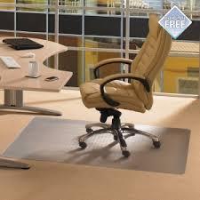 tapis de sol transparent pour bureau dessous de siège