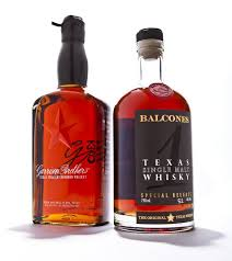 Garrison Brothers Texas Straight Bourbon Whiskey Balcones Single Malt Whisky Both At Sigels