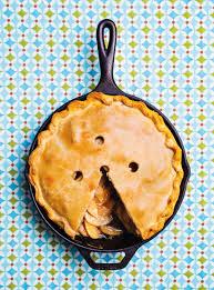 dessert aux pommes sans cuisson tarte aux pommes dans une poêle en fonte ricardo