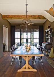 View In Gallery Trestle Table A Farmhouse Style Dining Room