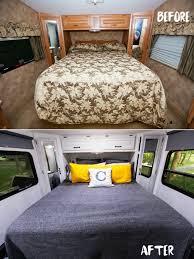 Camper Interior Decorating Ideas by 27 Rv U0026 Camper Van Remodel Hacks Interior Decor Ideas U2013 Design