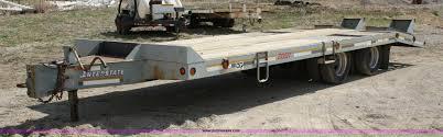 100 Interstate Truck Equipment 1997 Equipment Trailer Item 4897 SOLD May 25