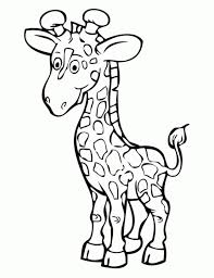 Giraffe Coloring Pages Printable 07416