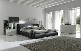deco design chambre déco noir et blanc chambre à coucher 30 exemples élégants