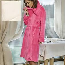 robe de chambre polaire femme zipp robe de chambre zippé et ceinture polaire courte wellness coemi