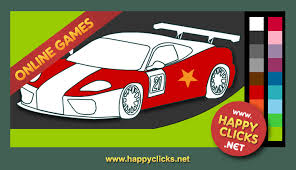 Coloring Pages Printable Online Play Free Painting Games For Preschoolers Incredible Racing Car Ideas Modern