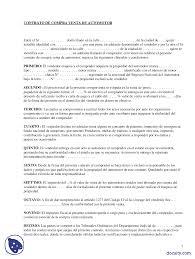 Compraventa De Automotor Prácticas Derecho Civil Derecho Docsity