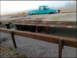 100 Jackson Truck And Trailer Bull Moose Ends Up Underneath Flatbed Trailer On Wyo22 Buckrail