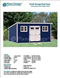 10x20 Shed Floor Plans by Building Blueprints Shed Plans 10 U0027 X 20 U0027 Reverse Gable Roof Style