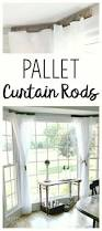Blockaide Adjustable Double Curtain Rod Set by The 25 Best Bay Window Curtain Rod Ideas On Pinterest Bay