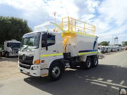 100 Water Truck NEW 2018 HINO FM 2628 6X4 WATER TRUCK For Sale Allied Equipment Sales