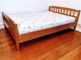 schlafzimmer holz 140 x 200 cm bett